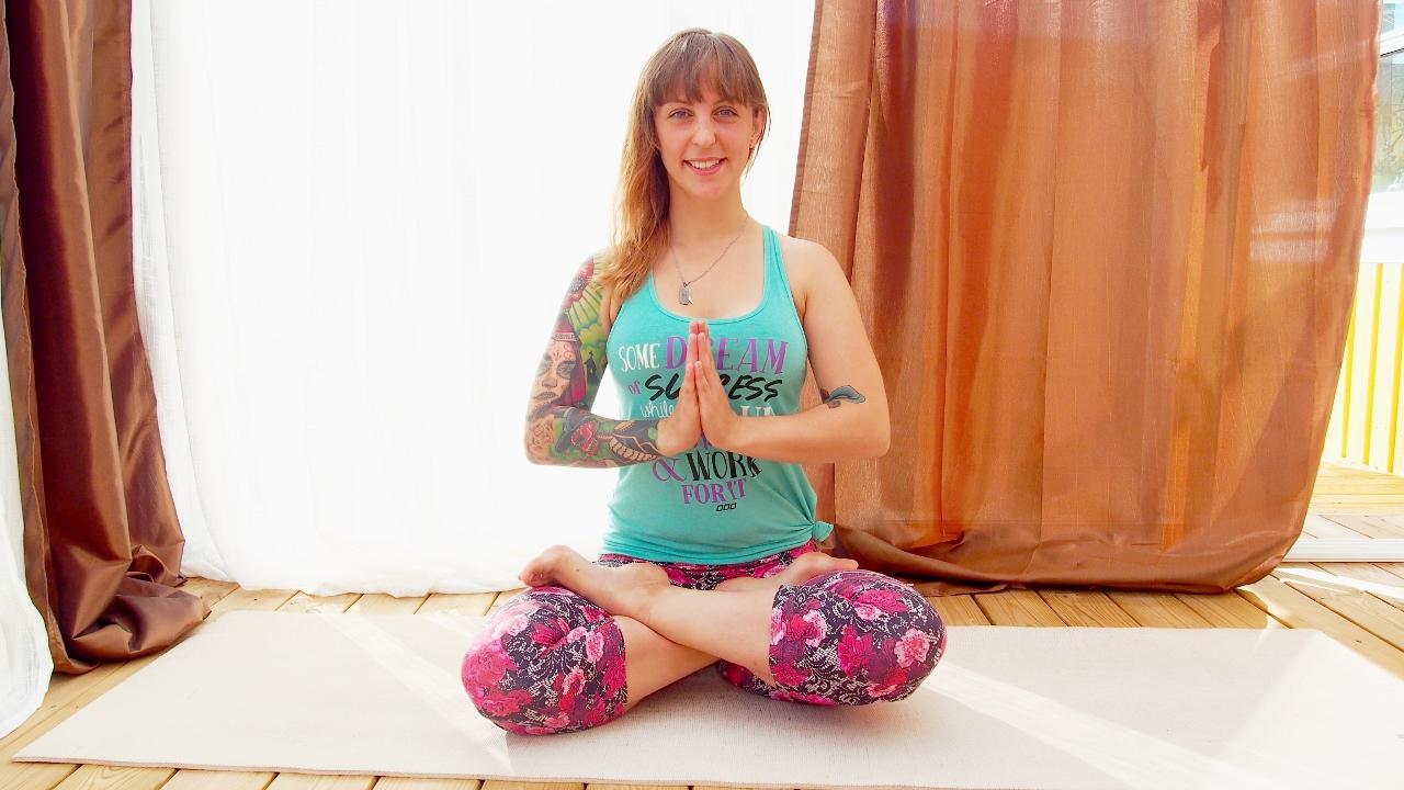 Yoga på Allt För Hälsan mässan